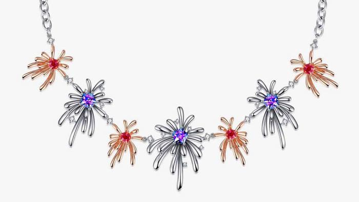 Carpe Diem — коллекция Fei Liu, вдохновленная фейерверками