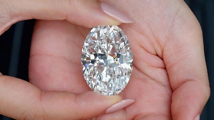 102-каратный бриллиант продается набеспрецедентных условиях