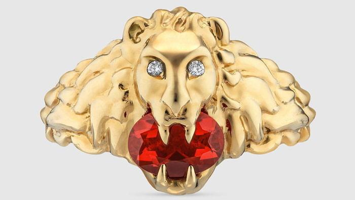 Царственные дикие кошки вколлекции Lion Head отGucci