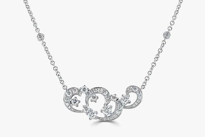 Колье с бриллиантами Domino Jewellery