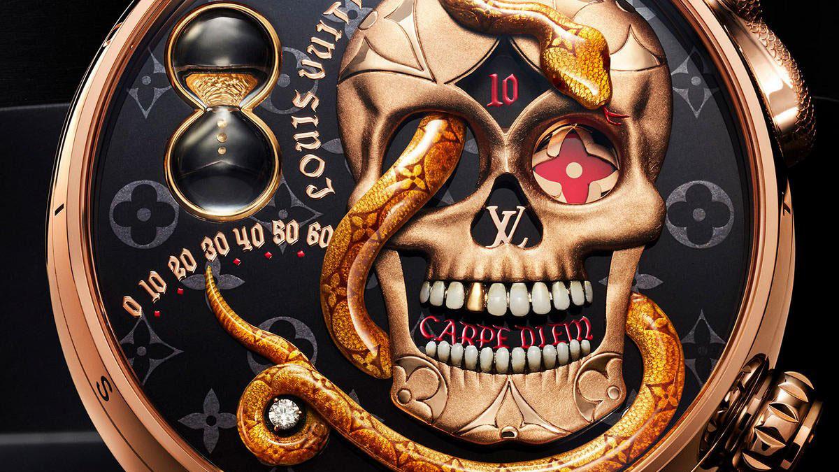 Эксцентричные Tambour Carpe Diem от Louis Vuitton — Jewellery Mag